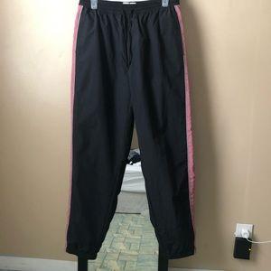 Swishy track pants